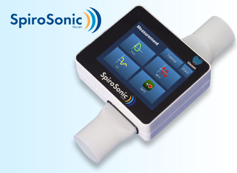 Uscom SpiroSonic digital ultrasonic spirometer